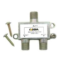 Делитель 2 выхода 5-900 МГц CADENA