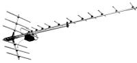 Антенна наружная всеволновая Дельта Н1181АF ДМВ (с усилителем 12V)