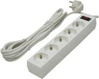 Сетевой фильтр Defender ES 5 м (белый)