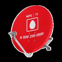 Комплект спутникового ТВ МТС установочный с антенной 0,6 м и конвертором