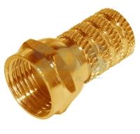 Разъём F для кабеля RG-6 GOLD