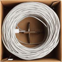 Кабель для компьютерных сетей UNIFLEX UTP4-CAT5e (24 AWG) CCA, внутренний, серый (305м)