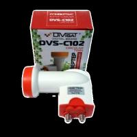 Конвертор Divisat DVS-C102 на 2 выхода круговой поляризации (Триколор, НТВ+)