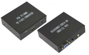 Конвертер VGA + 3.5 mm Аудио на HDMI REXANT